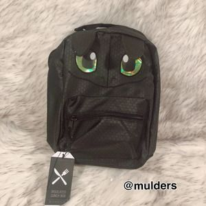 NWT Dreamworks x Bioworld How to Train Your Dragon Toothless Lunch Bag